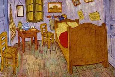 """Bedroom at Arles"", Vincent van Gogh"