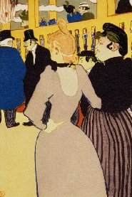 """At the Moulin Rouge, The..."", Henri de Toulouse-Lautrec"
